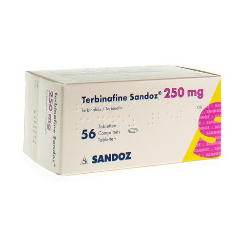 Terbinafine Sandoz 250 Mg (56 Comprimes)