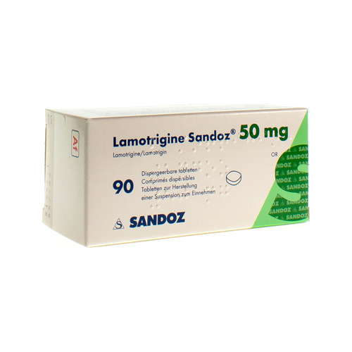 Lamotrigin Sandoz 50 Mg (90 Comprimes Dispersibles)
