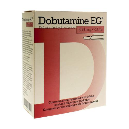 Dobutamine EG 10 Fl Pr Inj 250Mg/20Ml