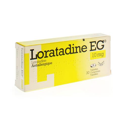 Loratadine EG 10 Mg (30 Comprimes)