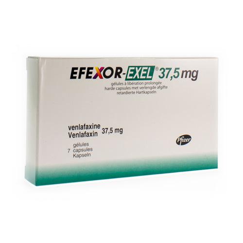 Efexor-Exel 37,5 Mg (7 Gelules)