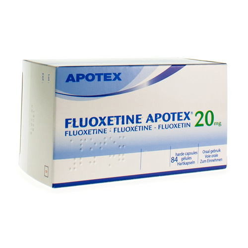 Fluoxetine Apotex 20 Mg (84 Gelules)