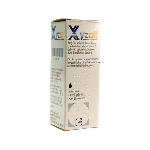 Xyzall 5 Mg/Mg (20 Ml)