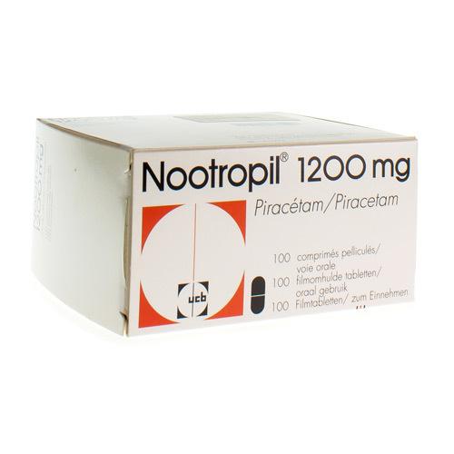 Nootropil 1200 Mg (100 Comprimes)