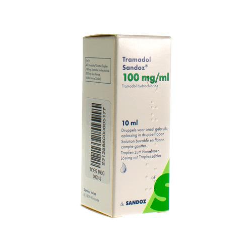 Tramadol Sandoz 100 Mg/Ml (10 Ml)