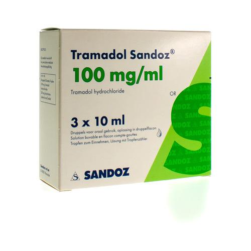 Tramadol Sandoz 100 Mg/Ml (30 Ml)