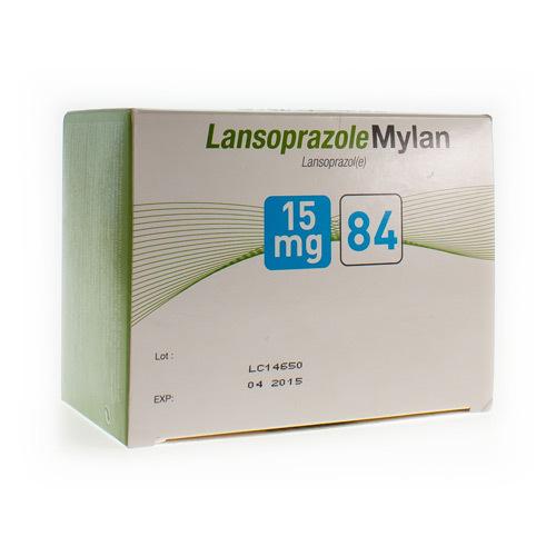 Lansoprazole Mylan 15 Mg (84 Gelules)
