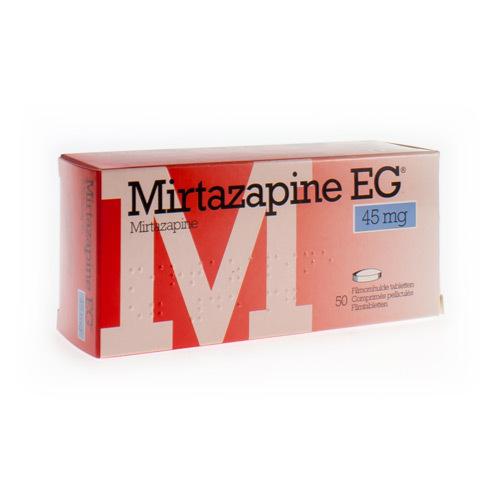 Mirtazapine EG 45 Mg (50 Comprimes)