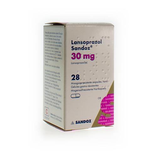 Lansoprazol Sandoz 30 Mg (28 Gelules)