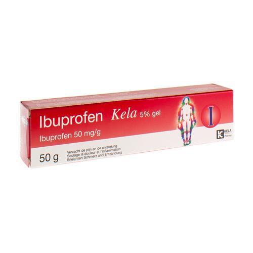 Ibuprofen Kela Gel 5% (50 Grammes)