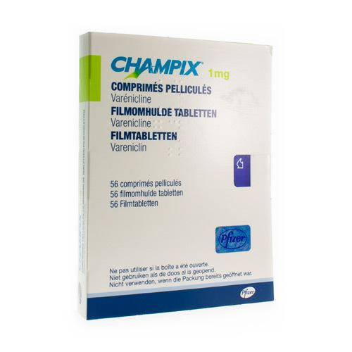 Champix 1 Mg  56 Comprimes