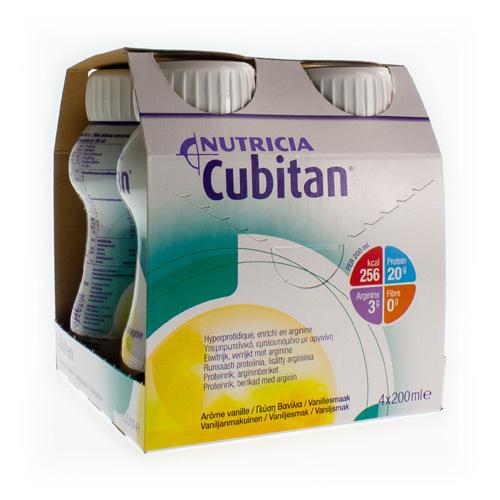 Cubitan Vanille  4 X 200 Ml