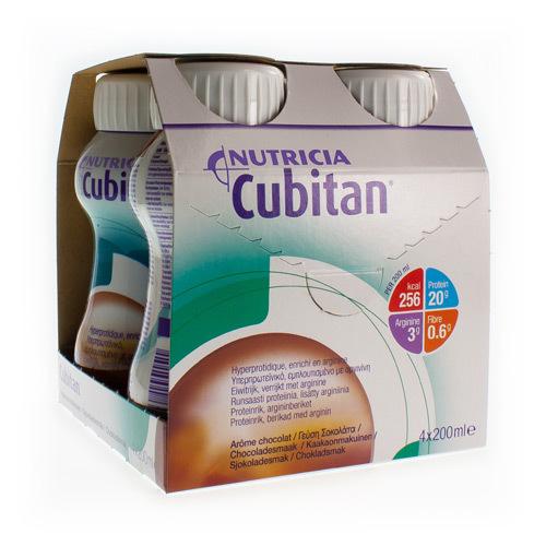 Cubitan Chocolade  4 X 200 Ml
