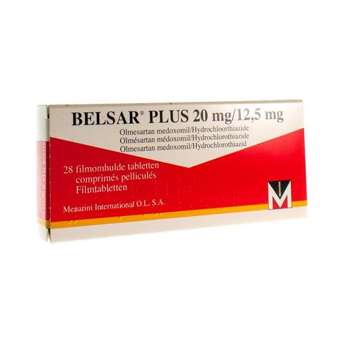 Belsar Plus 20 Mg / 12,5 Mg  28 Comprimes