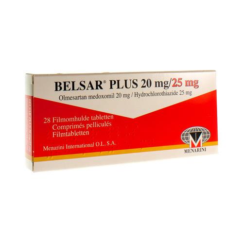 Belsar Plus 20 Mg / 25 Mg  28 Comprimes