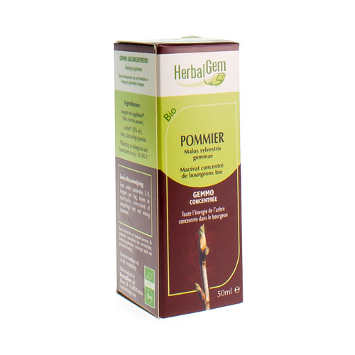 Herbalgem Pommier Macerats Bio 50Ml