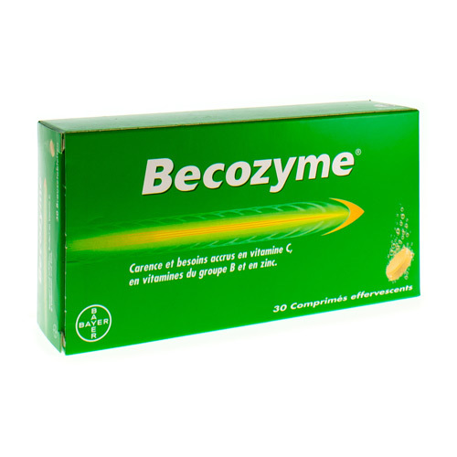 Becozyme  30 Comprimes Effervescents