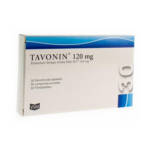 Tavonin 120 Mg (30 Comprimes)