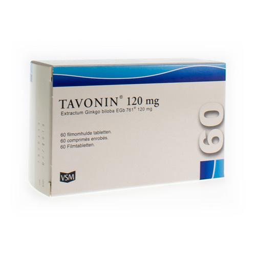 Tavonin 120 Mg (60 Comprimes)