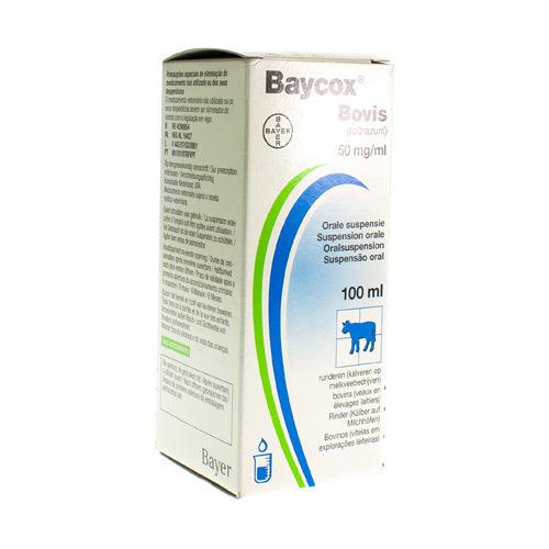 Baycox Bovis Veterinaire 50 Mg/Ml  100 Ml
