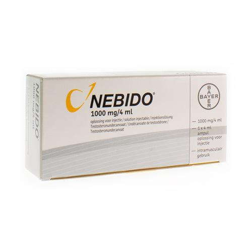Nebido 1000 Mg/4Ml Sol Inj 1 Amp