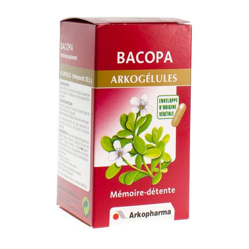 Arkocaps Bacopa Vegetal  45 Capsules