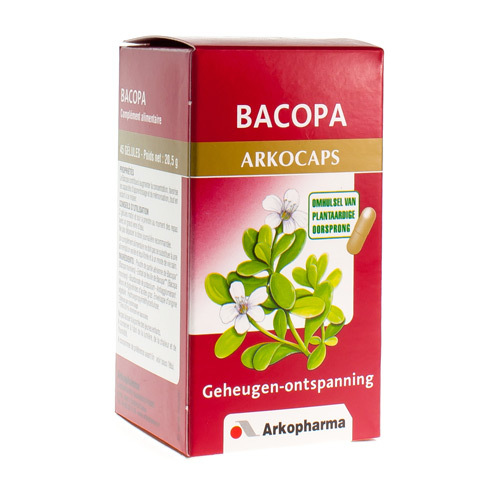 Arkocaps Bacopa Plantaardig  45 Capsules