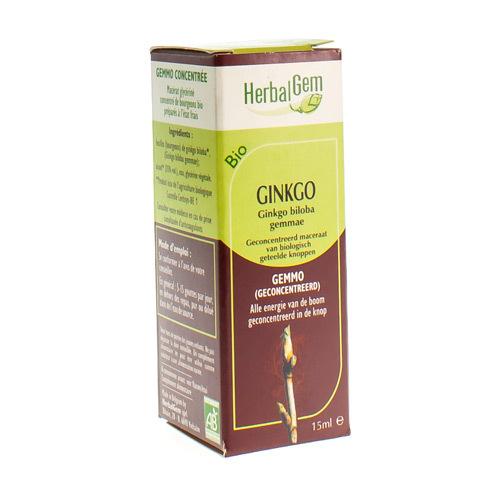 Herbalgem Gink Biloba Macera Bio 15Ml