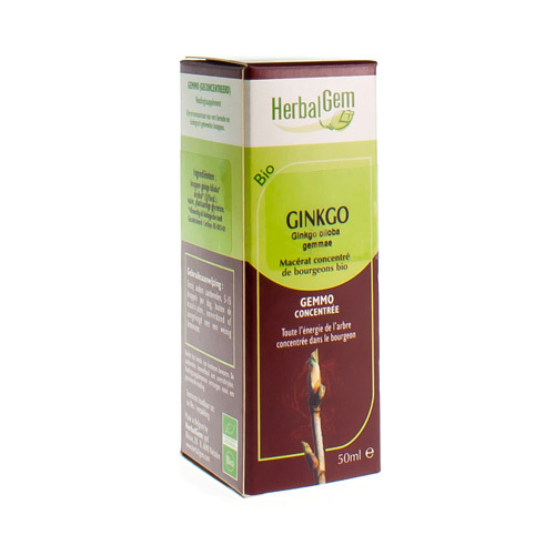 Herbalgem Gingko Maceraat Bio (15 Ml)