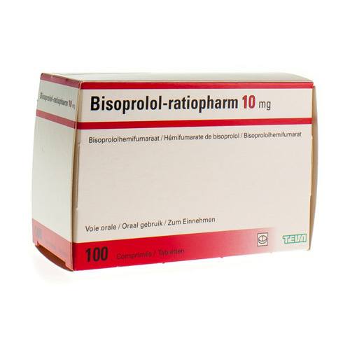 Bisoprolol Ratiopharm Comp 100 X 10 mg