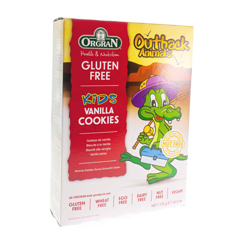 Orgran Petits Biscuits Vanille Animaux 175 G 4513