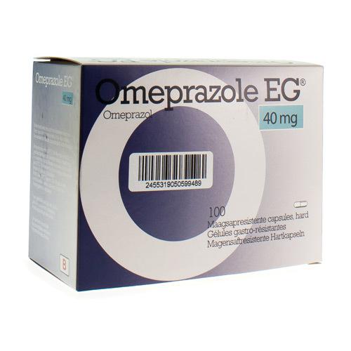 Omeprazole EG 40 Mg (100 Gelules)