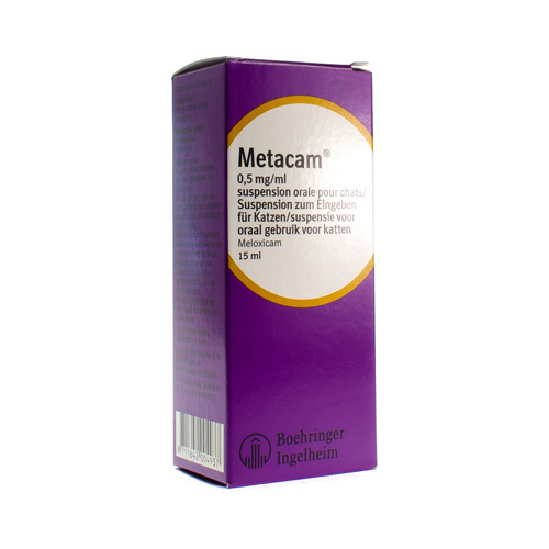 Metacam Veterinaire 0,5 Mg/Ml (15 Ml)
