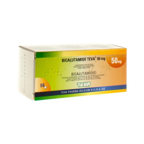 Bicalutamide Teva 50 Mg  56 Comprimes