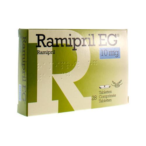 Ramipril EG 10 Mg (28 Comprimes)