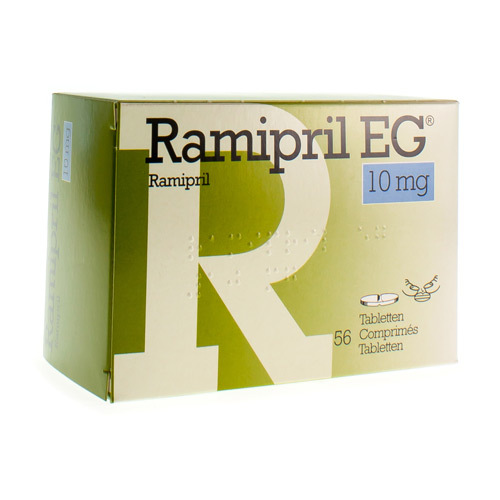 Ramipril EG 10 Mg (56 Comprimes)