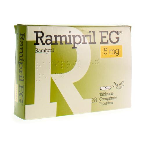 Ramipril EG 5 Mg (28 Comprimes)