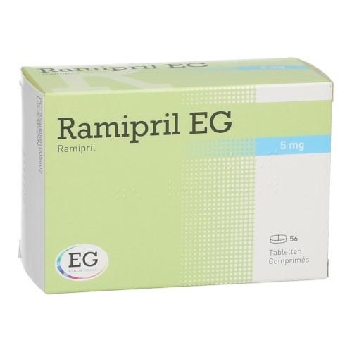 Ramipril EG 5 Mg (56 Comprimes)
