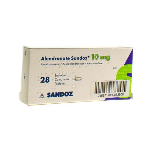 Alendronate Sandoz 10 Mg  28 Comprimes