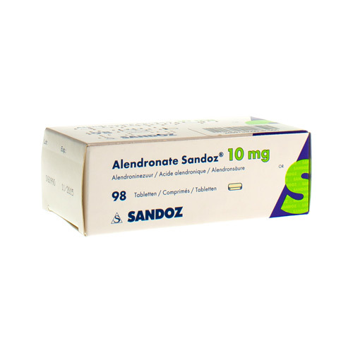 Alendronate Sandoz 10 Mg  98 Comprimes