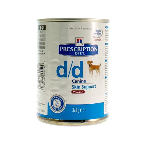 Hills Prescrip Diet Canne Dd Venison (370 Gram)