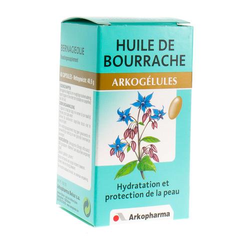 Arkocaps Huile De Bourrache  60 Capsules