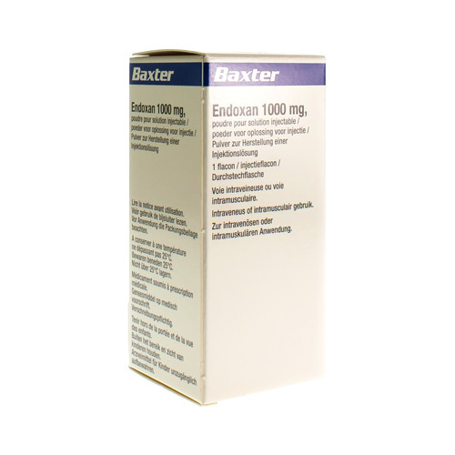 Endoxan 1000 Mg (1 Injectieflacon)