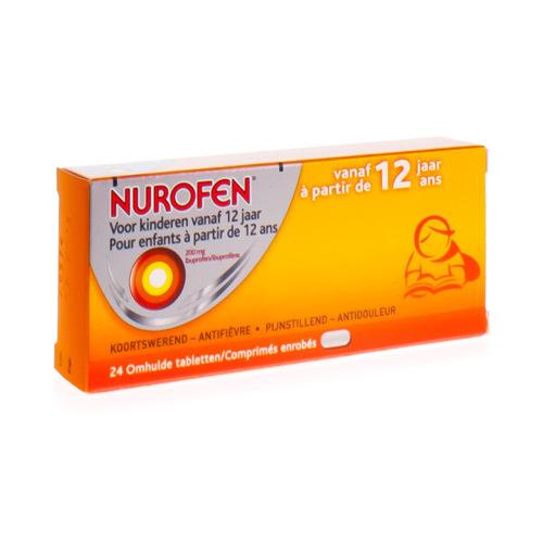 Nurofen Enfants 200 Mg (24 Comprimes)