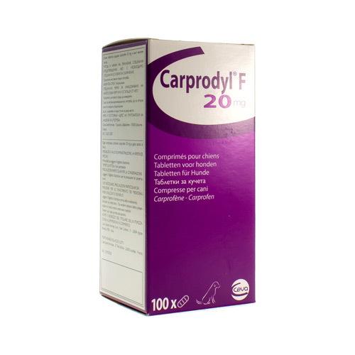 Carprodyl F Veterinaire 20 Mg  100 Comprimes