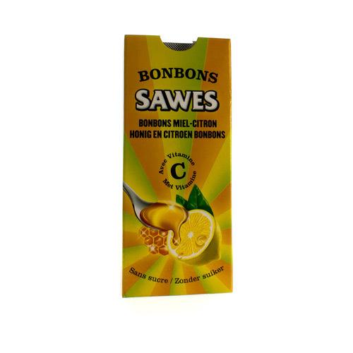Sawes Bonbons Miel-Citron Ss 10Pcs