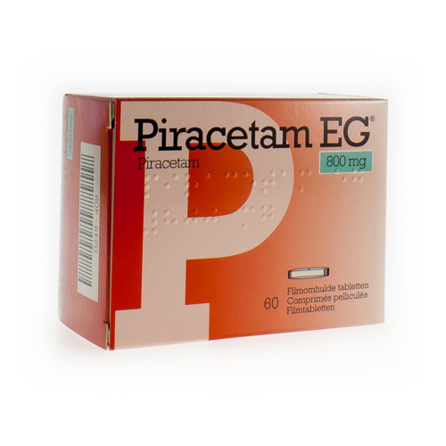 Piracetam EG 800 Mg (60 Comprimes)