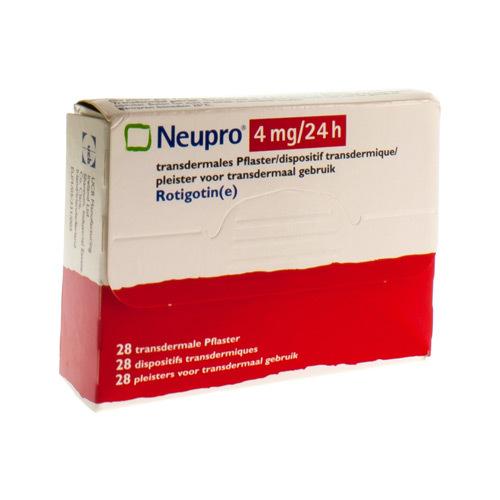 Neupro 4 Mg/24 Heures (28 Dispositifs)