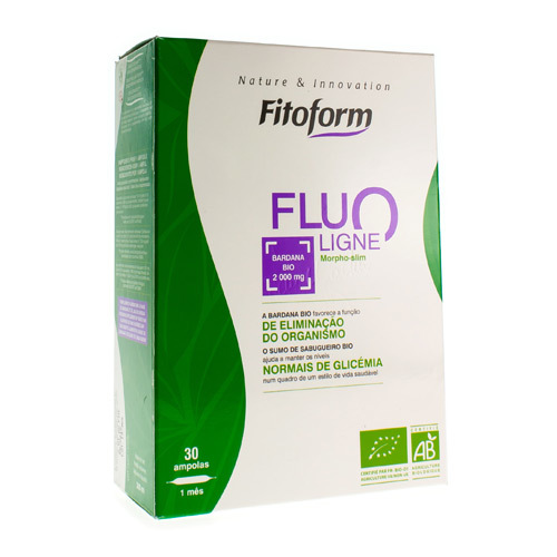 Fluoligne Bio Kit Amp 30X10 ml + Fl 60ml Fitoform