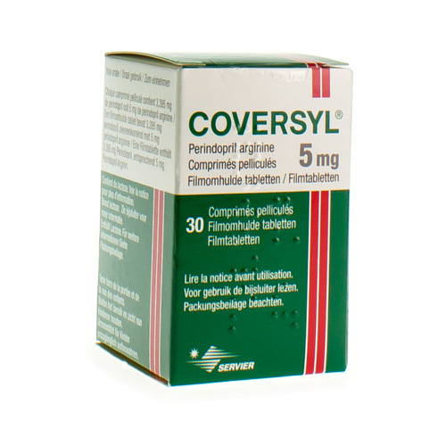 Coversyl 5 Mg  30 Comprimes